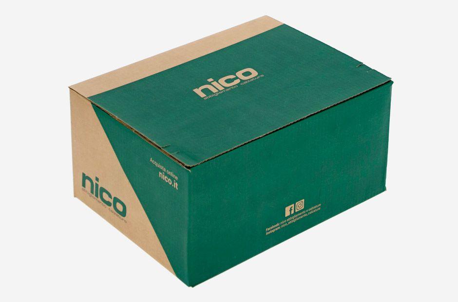 scatola in cartone per e-commerce